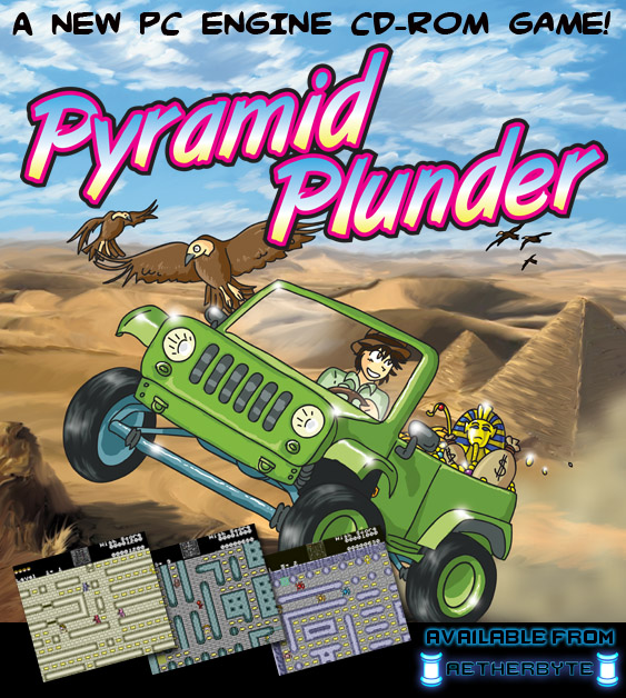 Pyramid Plunder for TurboGrafx-CD